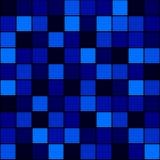 Nahtloses Musterblau Stockbilder