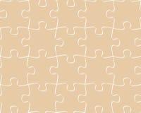 Nahtloses Musterpuzzlespiel Lizenzfreie Stockbilder