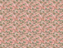 Nahtloses Musterrosa blüht Blüte Lizenzfreie Stockfotografie