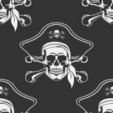 Nahtloses nettes Rogers-Emblem Stockfotos