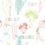 Nahtloses PA des Gemüses Lizenzfreie Stockbilder
