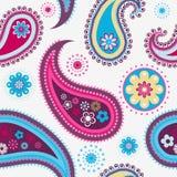 Nahtloses Paisley-Muster Stockfotos