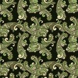Nahtloses Paisley-Muster Stockbilder