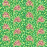 Nahtloses Paisley-Muster Stockfotografie