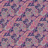Nahtloses Paisley-Muster stock abbildung