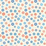 Nahtloses Pastellblumenmuster stock abbildung