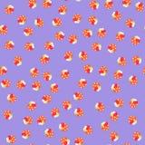 Nahtloses patern von Pilzen Stockbilder