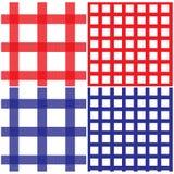 Nahtloses Picknick-Tischdecke-Muster Lizenzfreies Stockfoto