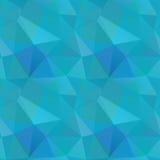 Nahtloses polygonales Muster, Hintergrund Stockfotografie