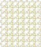 Nahtloses Puzzlespiel Stockfoto