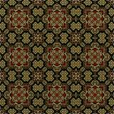 Nahtloses Rastermuster in psychedelischem Muster Mosaik orientalischer Art Blume für Tapete, Hintergründe, Dekor für Tapisserien  vektor abbildung