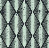Nahtloses Rautenmuster, abstrakter geometrischer Hintergrund, Vektor Lizenzfreies Stockfoto