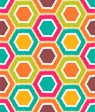 Nahtloses Retro- geometrisches Muster vektor abbildung