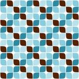 Nahtloses Retro- geometrisches Muster 03 Stockbilder