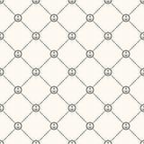 Nahtloses Retro- Muster des Vektors Stockbild
