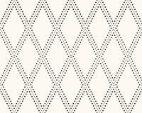 Nahtloses Retro- Muster des Vektors Stockbilder