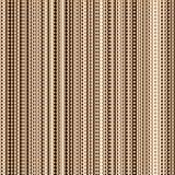 Nahtloses Retro- Muster mit vertikalen Streifen und Kreisen Stockbilder