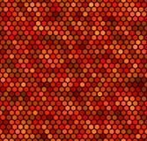 Nahtloses rotes Punkt-Muster Stockbilder