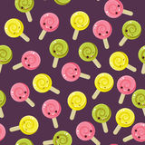 Nahtloses Süßigkeitmuster Stockfoto