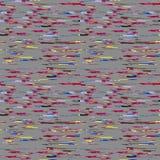 Nahtloses Schmutzfarbdesignmuster Lizenzfreies Stockbild
