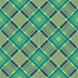 Nahtloses Schottenstoffmuster des Plaids Diagonale Beschaffenheit Lizenzfreies Stockbild
