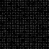 Nahtloses schwarzes geometrisches Muster Lizenzfreies Stockbild