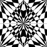 Schwarzweiss-abstrakte Kunst stock abbildung