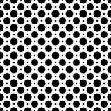 Nahtloses Schwarzweiss-Muster stockfotos