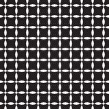 Nahtloses Schwarzweiss-Muster Lizenzfreies Stockfoto