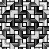 Nahtloses Schwarzweiss-Muster, einfacher Vektor streift geometri vektor abbildung