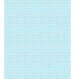 Nahtloses Seemuster Hellblaue Wellen auf Weiß Lizenzfreie Stockbilder
