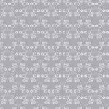 Nahtloses silbernes Muster vektor abbildung