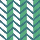 Nahtloses Sparrenmuster Buntes Licht und dunkelgrüner Zickzack auf dunklerem grünem Hintergrund Lizenzfreie Stockbilder