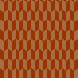 Nahtloses Sparrenmuster im Retrostil. Stock Abbildung