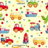Nahtloses Spielwaren-Muster Stockbild