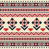 Nahtloses Stammes- Muster des Vektors Lizenzfreies Stockfoto