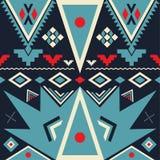 Nahtloses Stammes- Muster des Vektors Stockbild