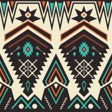 Nahtloses Stammes- Muster des Vektors Stockfotos