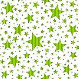 Nahtloses Stern-u. Streifen-Muster Stockfotografie