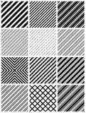 Nahtloses Streifenmuster lizenzfreie abbildung