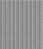 Nahtloses strickendes Muster, Farbtöne des Graus Lizenzfreie Stockfotos