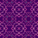 Nahtloses symmetrisches Muster, Beschaffenheit Lizenzfreies Stockbild