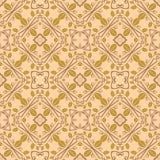 Nahtloses symmetrisches Muster, Beschaffenheit Stockfotografie