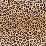 Nahtloses Tierleopardmuster, Vektor lizenzfreie abbildung
