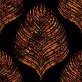 Nahtloses tropisches Muster lizenzfreie abbildung