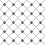 Nahtloses Vektor-Muster mit königlicher Lilie Lizenzfreies Stockfoto