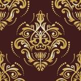 Nahtloses Vektor-Muster Orientes Auszug Lizenzfreie Stockbilder