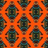 Nahtloses Vektor-Muster-zeitgenössisches Design Stockbilder