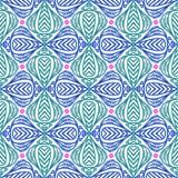 Moderner Stylization der indischen Muster Lizenzfreies Stockbild