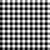 Nahtloses Vektormuster des Schottenstoffs Karierte Plaidbeschaffenheit Geometrischer quadratischer Hintergrund für Gewebe stock abbildung